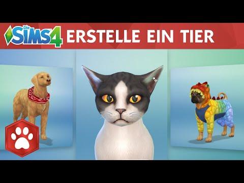 """Die Sims 4 Hunde & Katzen: Offizieller Gameplay-Trailer """"Erstelle ein Tier"""""""