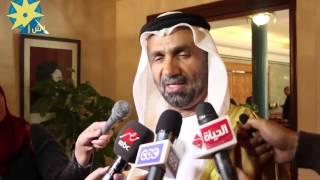 """بالفيديو:رئيس البرلمان العربي"""" بن الجروان """":نقف خلف قادتنا لإتخاذ القرارات المناسبة لمحاربة الإرهاب"""