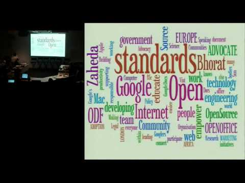 Google Internet Summit 2009: Standards Session