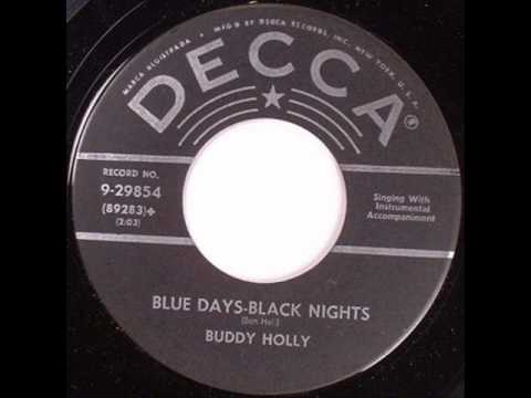Buddy Holly - Blue Days Black Nights