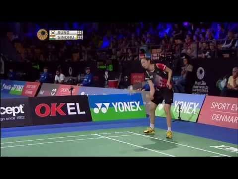 2014 YONEX DENMARK OPEN - QF WS | Sung J H [4] (KOR) VS P V Sindhu (IND)
