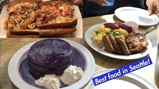 Seattle Food Adventure: Best places to eat in Seattle!!! (Seattle travel vlog 3)