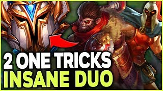 BEST WUKONG AND PANTHEON WORLD SLAUGHTER CHALLENGER NA - League of Legends