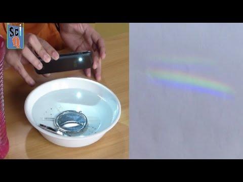 Как сделать радугу на фото с помощью диска