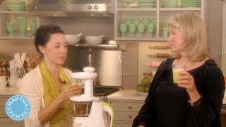 Healthy Juicing - Meatless Monday - Martha Stewart