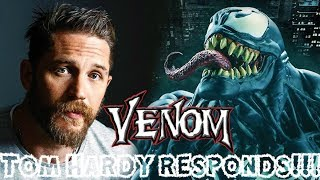 Tom Hardy Responds to Recent Venom Movie Rumors!!!