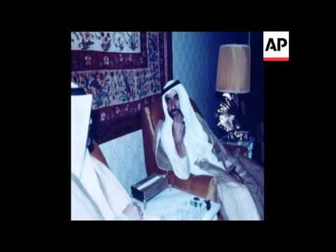 SYND 19 5 77 DIGNITARIES ARRIVING TO ABU DHABI FOR OIL TALK