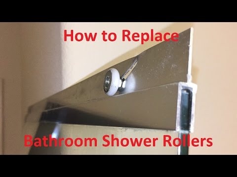 Tutorial: How to Replace Bathroom Shower Rollers