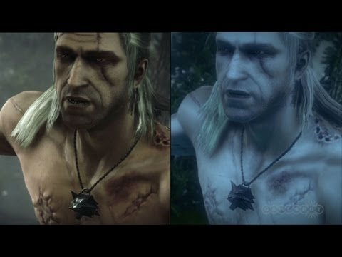 The Witcher 2: Enhanced Edition Graphics Comparison