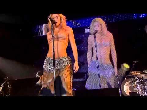 Shakira HDOjos Asilive performance HD 1080p