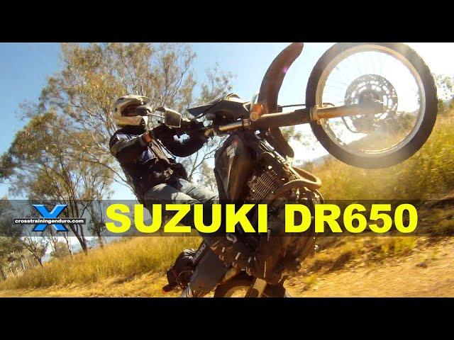 SUZUKI DR650 - THE WORLD'S BEST BIKE - YouTube