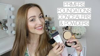 The BEST Face Products For Dry Skin | Primers, Foundation + More!