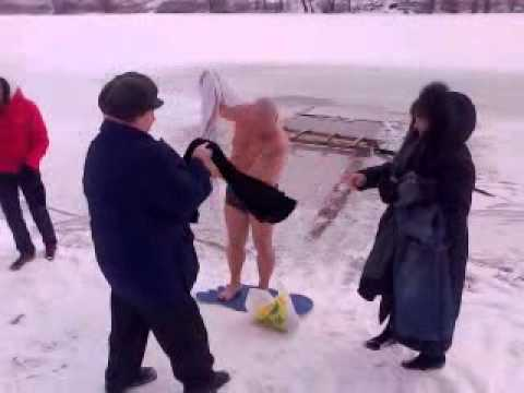 Крещение в Украине 2012г.