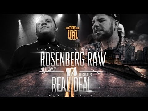 REAL DEAL VS ROSENBERG RAW - SMACK/ URL