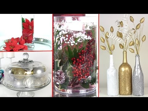 8 Diy Holiday Room Decorations &amp  Gift Ideas   Winter Holiday Decor