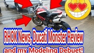 Fireguy24: Ducati Monster 1100s review and ride