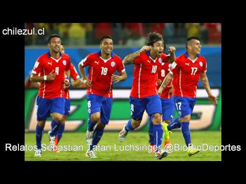 Mundial Brasil 2014 Chile 3-1 Australia Relatos Tatan Luchsinger Radio Biobio
