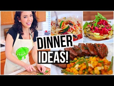 3 EASY & HEALTHY DINNER IDEAS!