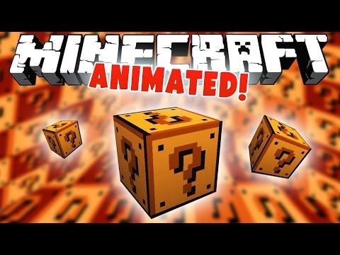 АНИМИРОВАННЫЙ ЛАКИ БЛОК! [Minecraft: Обзор Мода]