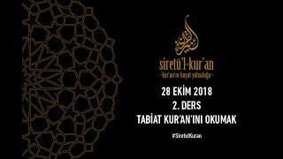 Siretü'l Kur'an 2. Ders - Mustafa İslamoğlu (Tabiat Kur'an'ını Okumak)