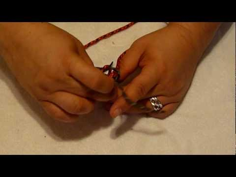 Crown Knot tutorial, from round wall knot.