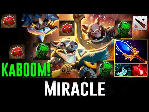 Miracle Techies AWESOME GAME Dota 2