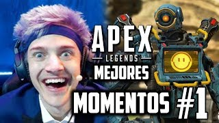 FUNNY AND EPIC MOMENTS EN APEX LEGENDS ! RECOPILACION CLIPS