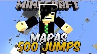 Minecraft Mapas - 500 Jumps - Mapa de Parkour Épico =P
