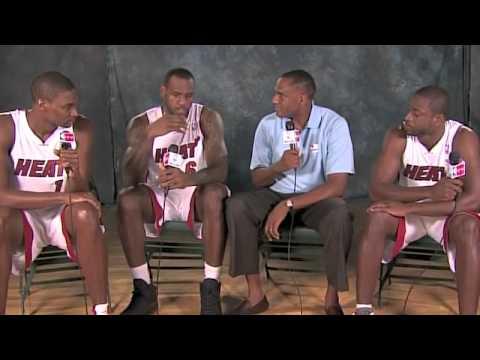 James, Bosh and Wade