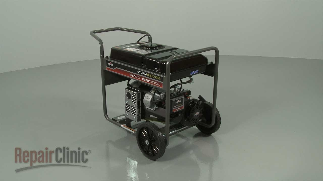 Campbell Hausfeld Parts >> Briggs and Stratton Generator Disassembly – Generator Repair Help - YouTube