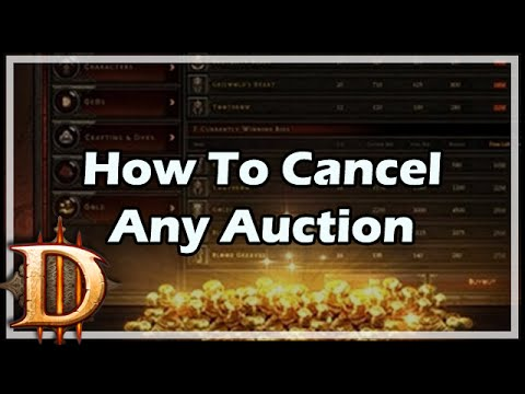 How To Cancel Any Auction
