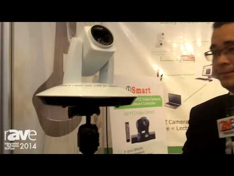 ISE 2014: iSmart Video Showcases AMC Series Video Conference Cameras