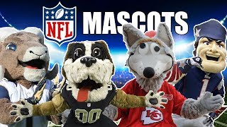All 32 NFL Team Mascots Ranked