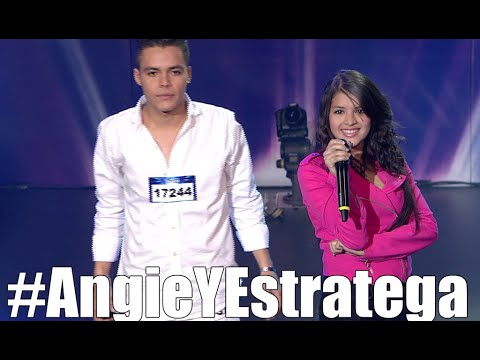 Anggie y Stratega Ecuador Tiene Talento Parte 3