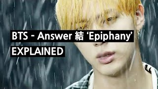 Bts Epiphany Love Yourself 結 Answer Explained