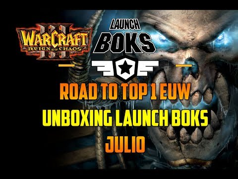 WARCRAFT 3: REIGN OF CHAOS - UNBOXING LAUNCH BOKS JULIO - Gameplay Español