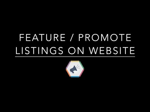 listing management 3 how to feature promote listings on website