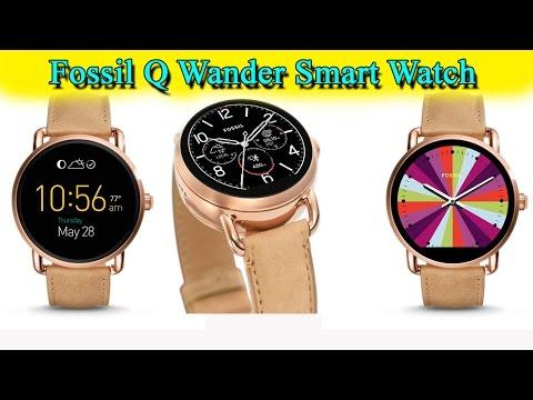Fossil Q Wander Smart Watch Review 2017