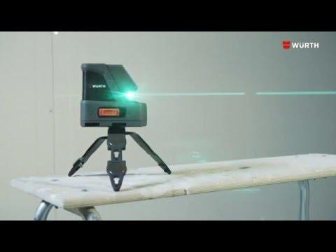 Livello laser Würth CLG 15 a raggio verde (it)