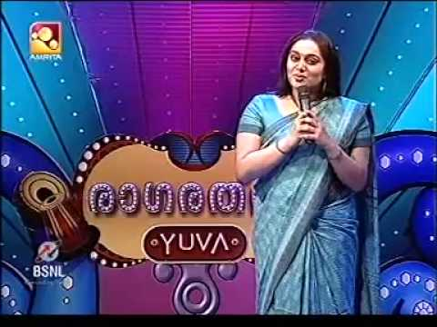 Sudha Ranjith Soorya introduction as celibrity judge raga ratnam yuva.mp4