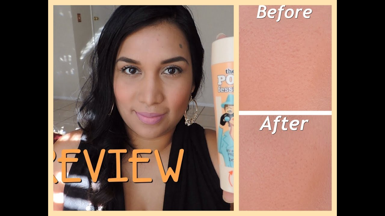 Benefit porefessional agent zero shine review youtube