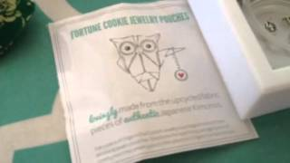 Fortune Cookie Jewelry Pouches By Origami Owl