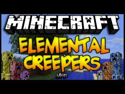 Minecraft 1.6.4 - Como instalar ELEMENTAL CREEPERS MOD - CLIENT & SERVER - ESPAÑOL