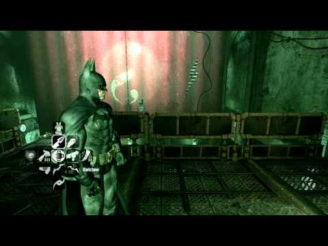 Batman Arkham City - Riddler Challenge Room 2!
