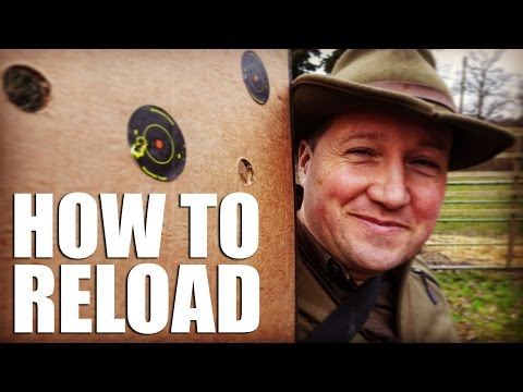 How to Reload Your Own Ammunition