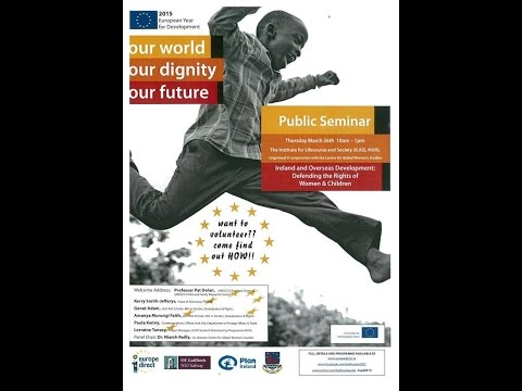 Ballinasloe ED/Library -Our World, Our Dignity, Our future Seminar' Lorraine Tansey,  NUIG