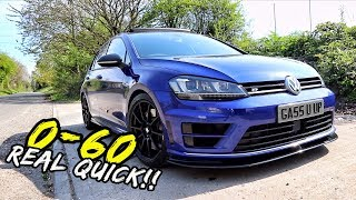 0-60 RUNS IN MY *500BHP LITTCO VW GOLF R* MAD!!