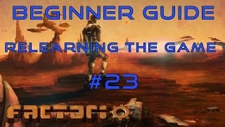 Factorio Beginner Guide: Relearning The Game EP23 - Robot Mining!