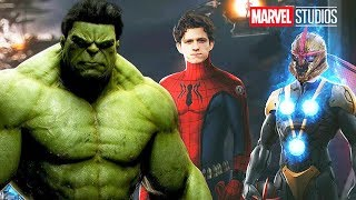 Avengers 5 Hulk Announcement Breakdown - 5 New Marvel Movies Explained