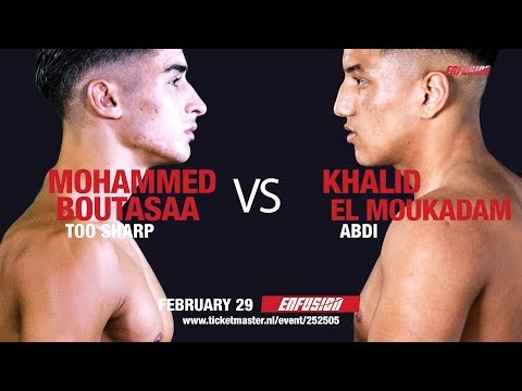 Part 03- Road to Enfusion World Champion  67KG, Boutasaa vs. El Moukadam, 29 02 2020, Eindhoven